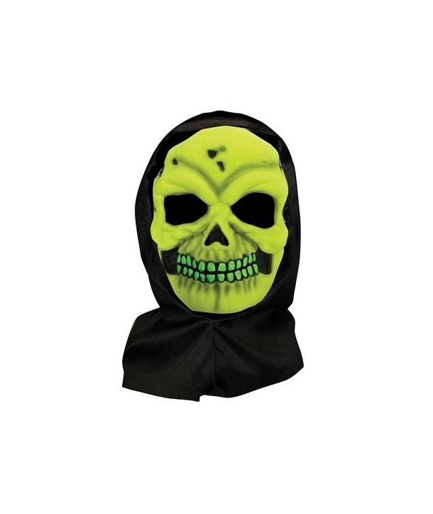 Masca schelet verde Halloween