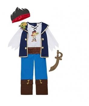 Costum carnaval baieti Jack si piratii din Tara de Nicaieri
