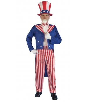 Costum carnaval barbati Uncle Sam