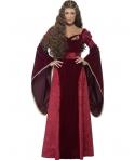 Costum carnaval femei regina medievala de lux