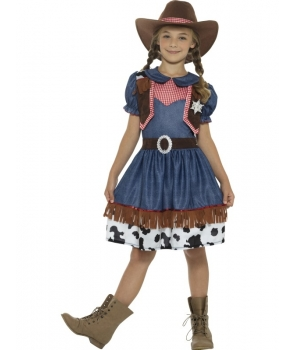 Costum carnaval fete cowgirl Texas