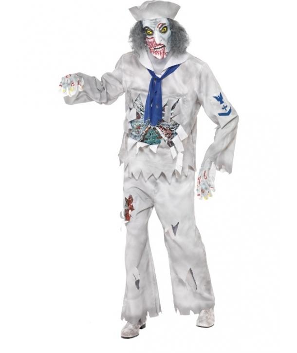 Costum adulti marinar fantoma Halloween