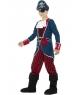 Costum carnaval baieti Capitan pirat de lux