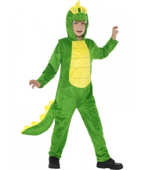 Costum carnaval copii crocodil de lux