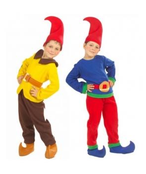 Costum carnaval copii pitic colorat