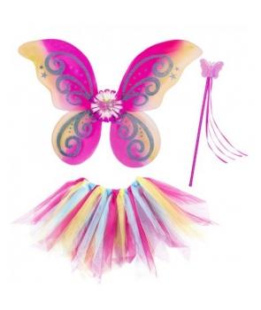 Set zana, fluture