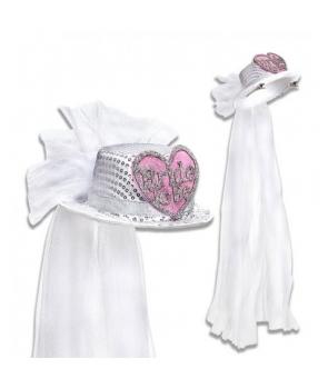 Minijoben cu voal Bride to be