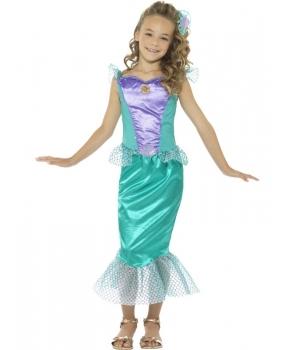 Costum carnaval fete sirena model nou