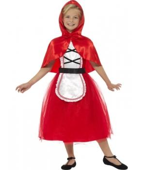 Costum carnaval fete Scufita Rosie model nou