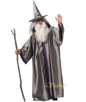 Costum barbati vrajitor Merlin Halloween