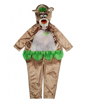 Costum carnaval copii ursul Baloo Cartea Junglei