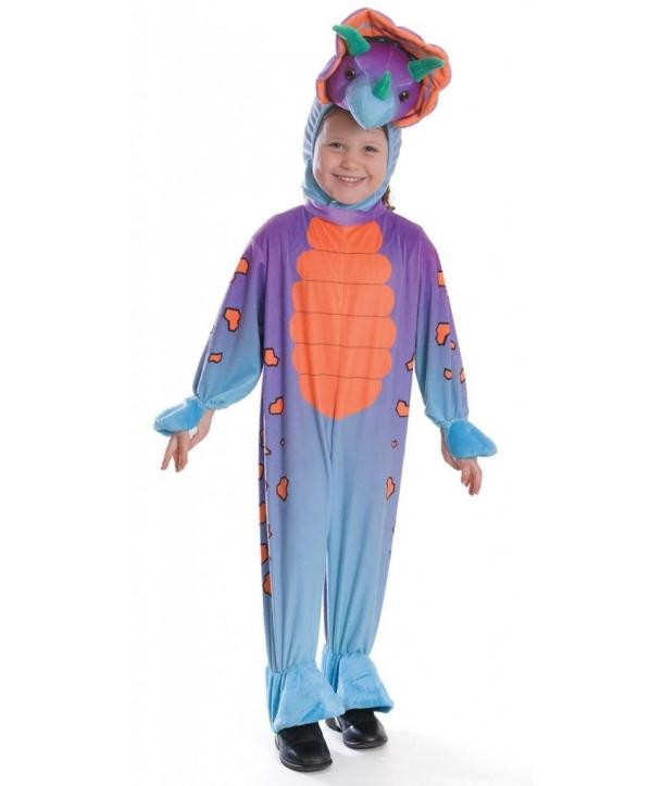 Costum carnaval dinozaur copii Triceratops