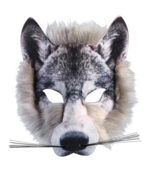 Masca de lup autentica