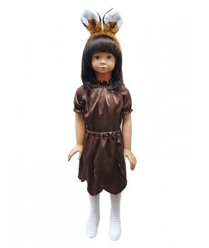 Costum carnaval fete vulpe cu fusta model 1