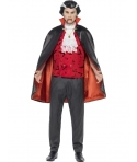 Costum Halloween barbati vampir clasic