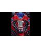Costum carnaval baieti Power Rangers rosu