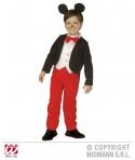 Costum carnaval baieti MIckey Mouse cu frac