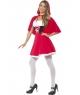 Costum carnaval femei Scufita Rosie model nou