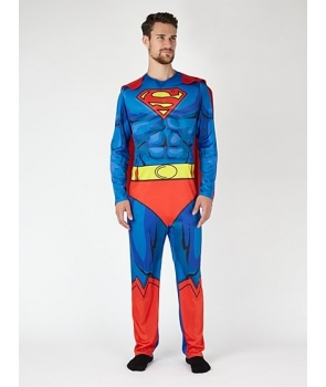 Costum carnaval adulti Superman model nou