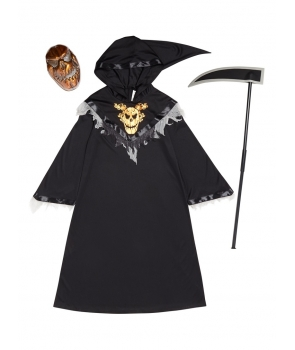 Costum Halloween baieti roba cu coasa