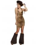 Costum carnaval femei Epoca de Piatra model 2