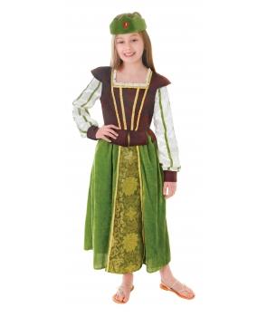 Costum carnaval fete printesa medievala
