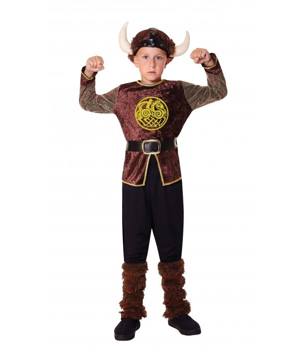 Costum carnaval baieti viking