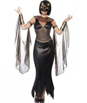 Costum Halloween femei zeita pisica