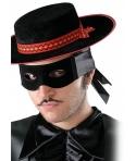 Masca de carnaval bandit neagra