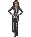 Costum Halloween femei schelet