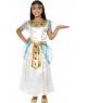 Costum carnaval fete Cleopatra alb
