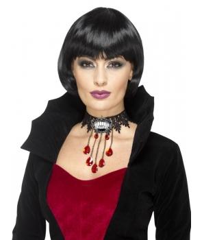 Colier Halloween vampirita