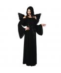Costum Halloween femei inger negru