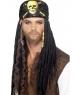 Peruca petrecere pirat cu bandana