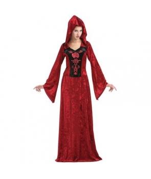 Costum femei gothic rosu Halloween
