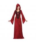 Costum Halloween femei gothic rosu