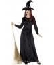Costum Halloween femei vrajitoare de lux