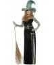 Costum Halloween femei vrajitoare smarald