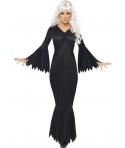 Costum Halloween femei vampirita negru