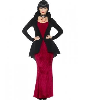 Costum Halloween femei vampirita cu jacheta