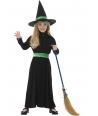 Costum Halloween fete vrajitoare cu palarie