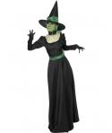 Costum Halloween femei vrajitoare eleganta