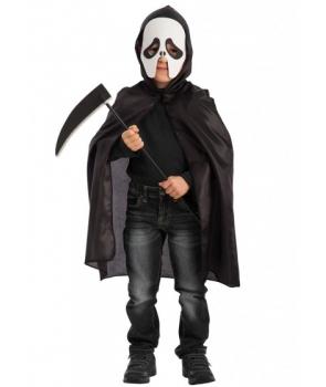 Set Halloween copii fantoma neagra