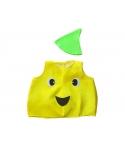 Costum carnaval copii fruct galben