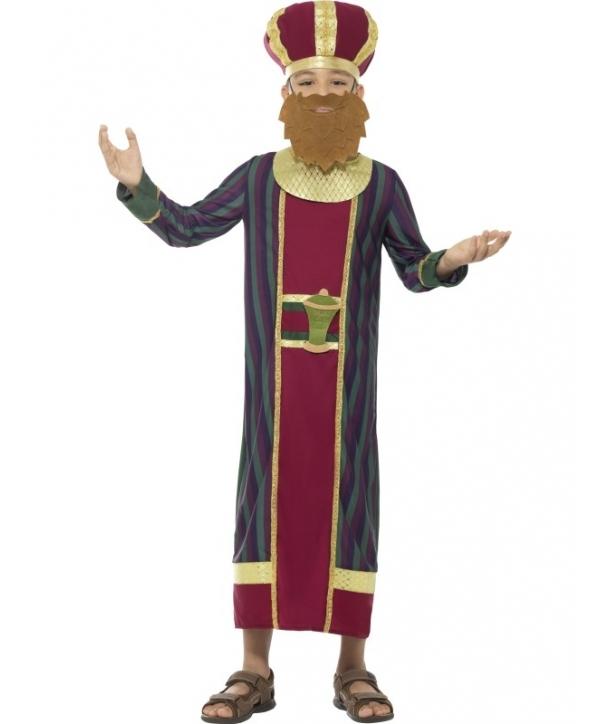 Costum Craciun copii Mag Balthazar