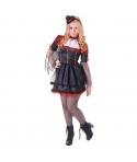 Costum Halloween femei vampirita cu palarie