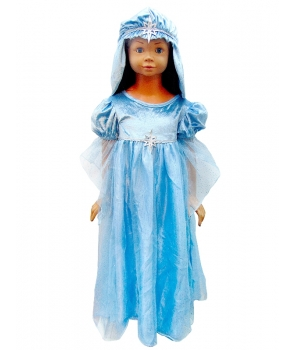 Costum Craciun fete Fecioara Maria model 1