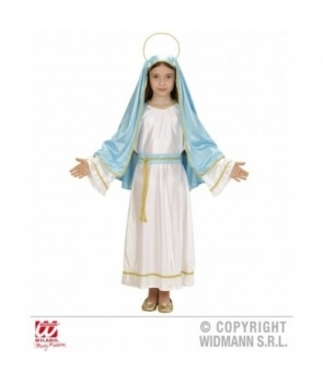 Costum Craciun fete Fecioara Maria model 2