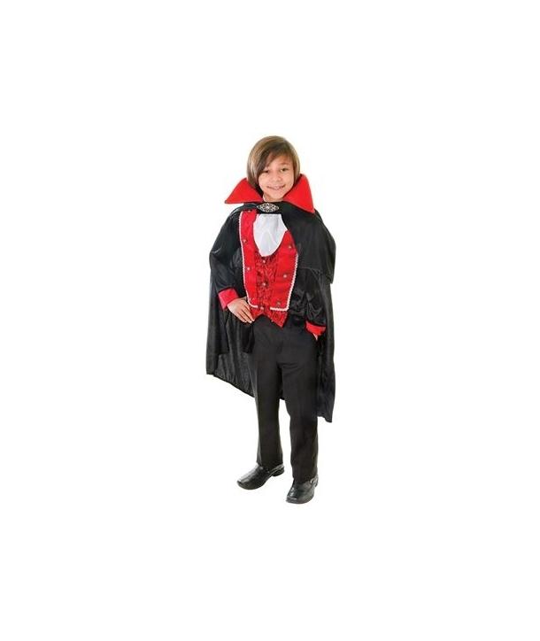 Costum baieti vampir Victorian Halloween