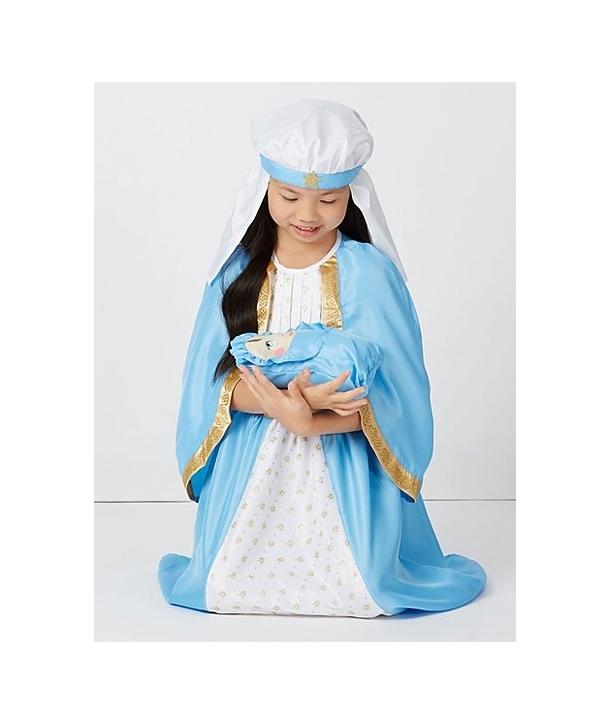 Costum Craciun fete Fecioara Maria